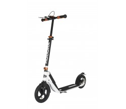 Самокат Hudora Big Wheel Air 230 Dual Brake белый