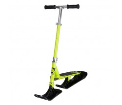 Снежный самокат на лыжах Stiga Bike Snow Kick Free лайм