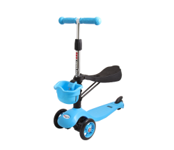 Самокат Tech Team TT Sky Scooter голубой