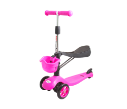 Самокат Tech Team TT Sky Scooter розовый