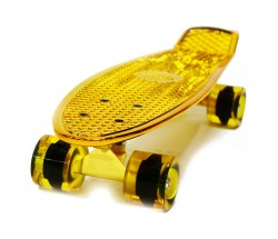 Мини круизер Hubster Cruiser 22 Metallic Gold